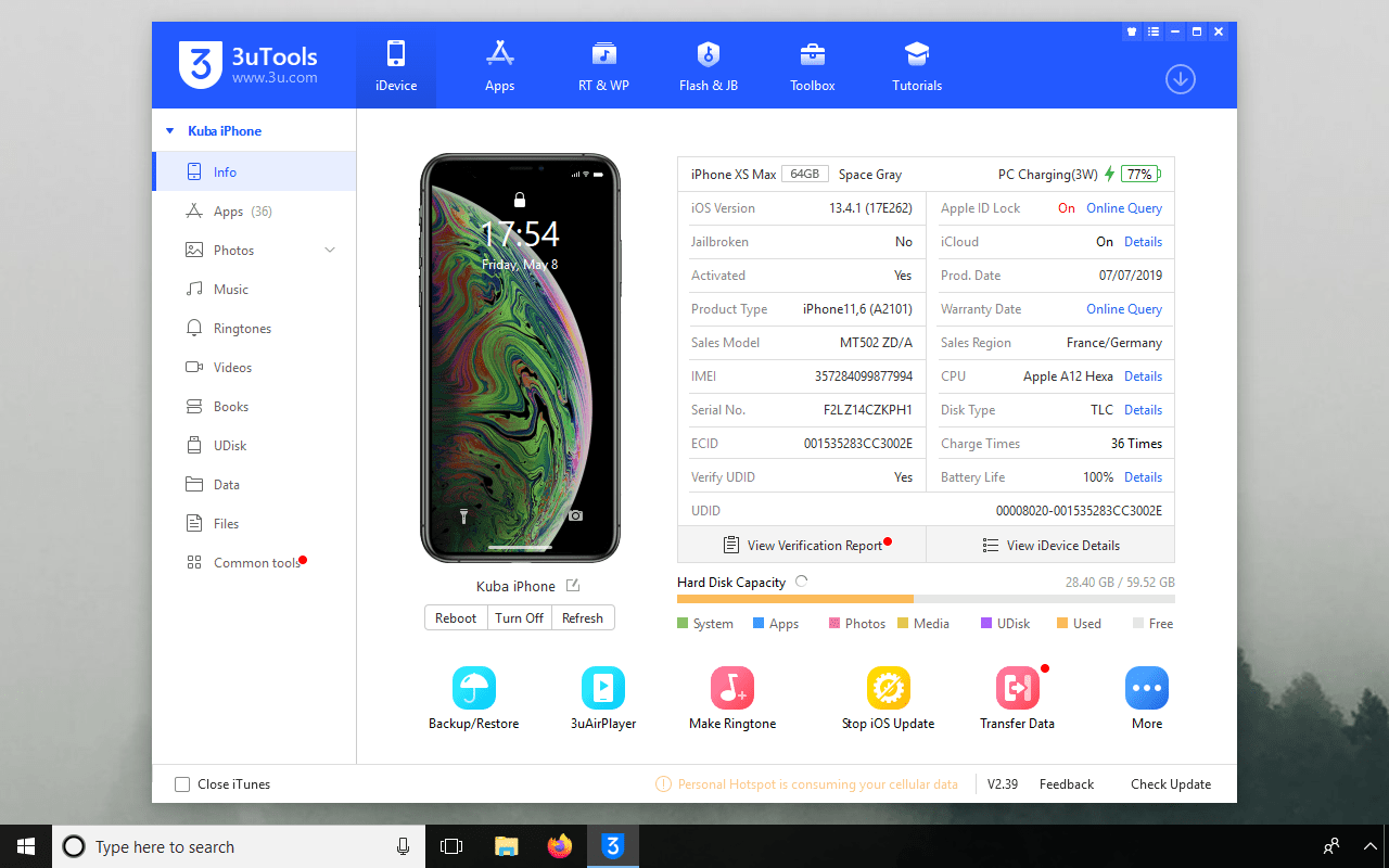 3uTools Download for Windows