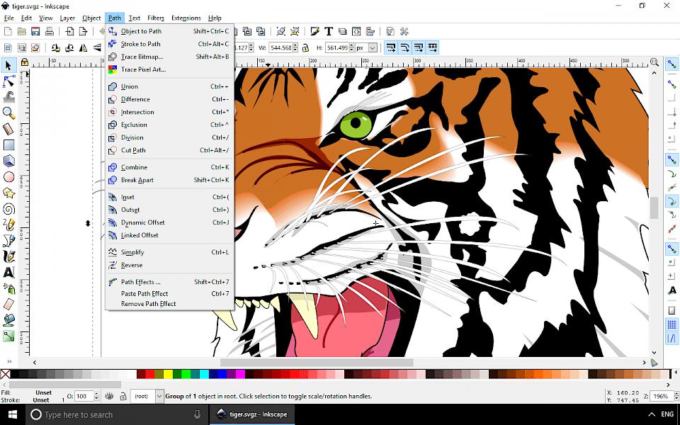 Line Art Inkscape : Inkscape download