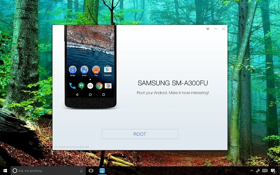 Download Kingo Root for PC
