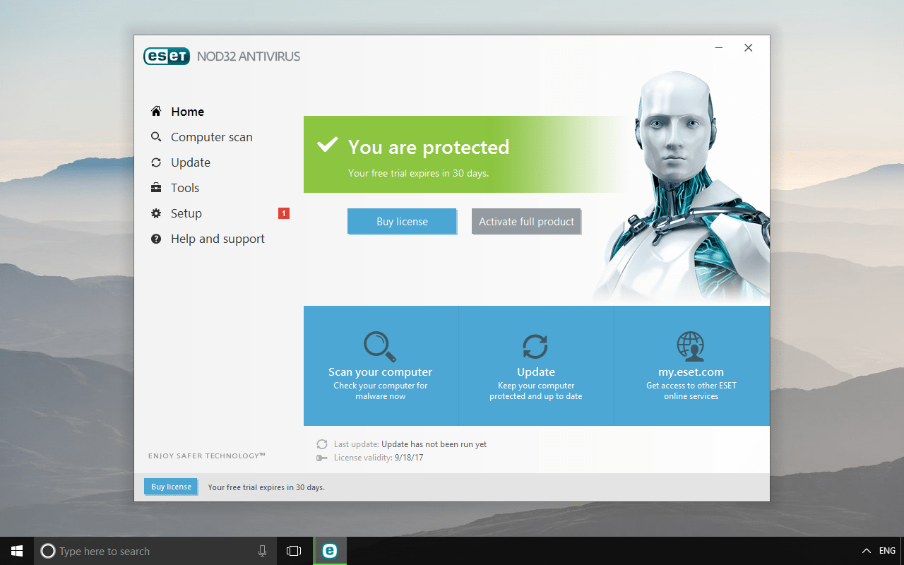 ESET NOD32 Trial Download