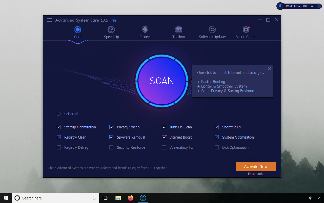 advanced systemcare download full free