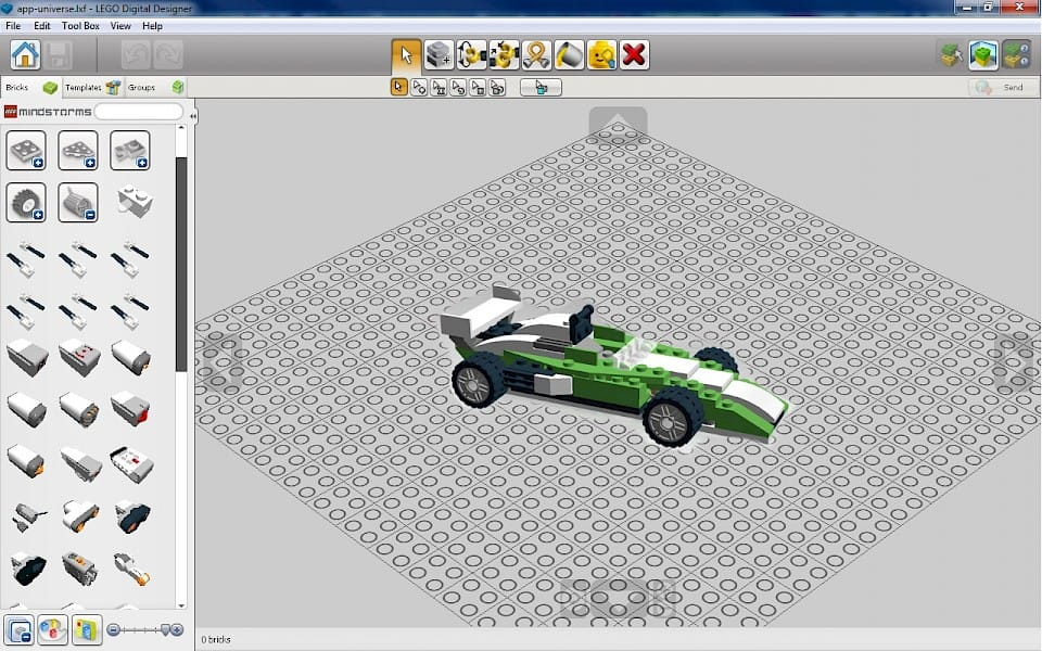Lego digital designer download kubadownload the user interface of lego digital designer was created very good its easy to use and all tools are available from main screen pronofoot35fo Images