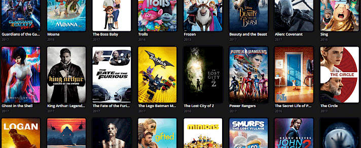 Stream torrent movies and TV-Shows online with free software