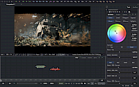 Small screenshot of Blackmagic Fusion 9 Studio running on Windows.