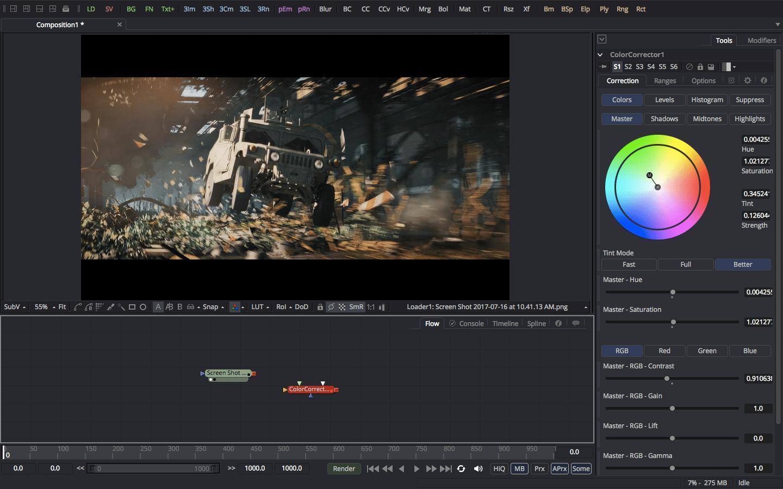 Blackmagic Fusion 9 Studio Download