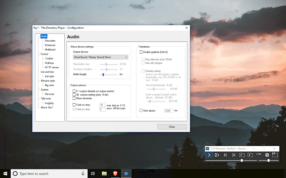 1by1 in compact mode on Windows 10