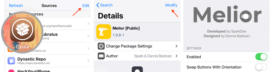 How to install Melior