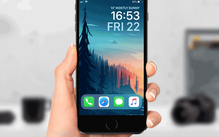 LockDock for iOS - add your dock to your Lock screen