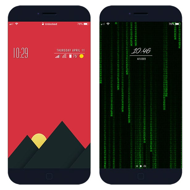 Xen HTML - widgets on iOS lockscreen and homescreen