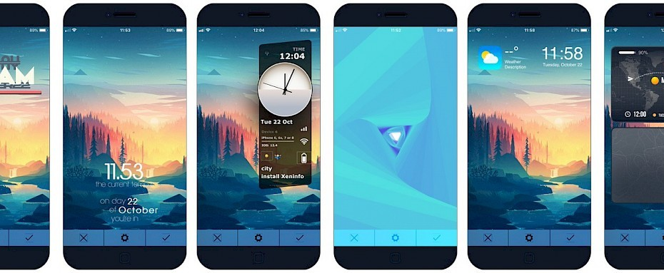 Xen Html Widgets On Ios Lockscreen