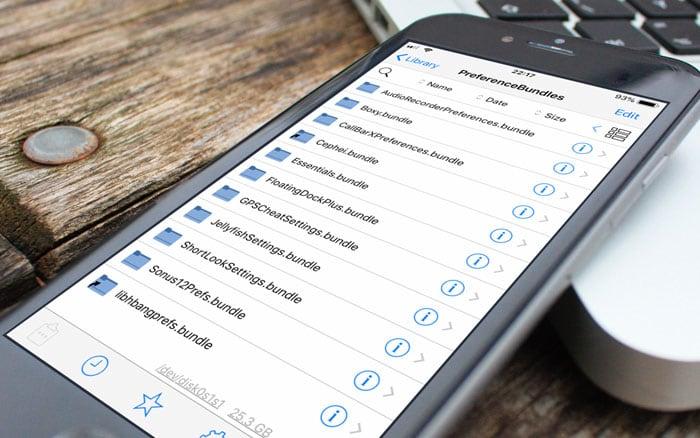 Filza File Manager for iOS 12