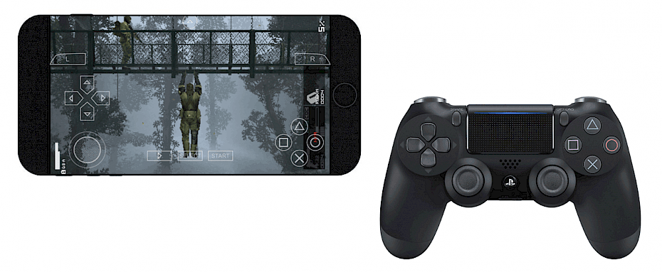 nControl play games with console controllers on iOS