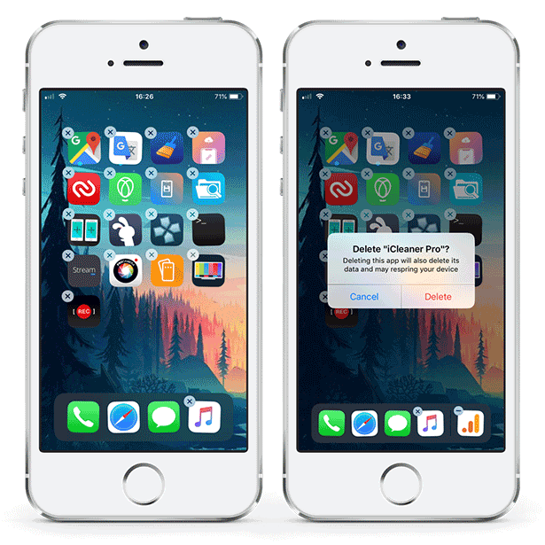 CyDelete12 - uninstall Cydia apps like normal application on iOS