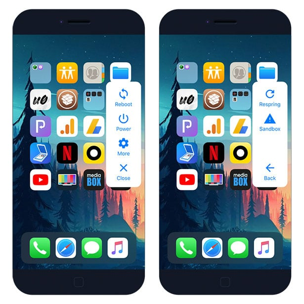 ModernPower jailbreak tweak for iOS