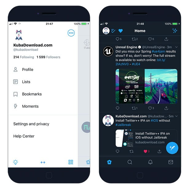 Install Twitter++ IPA on iOS without Jailbreak