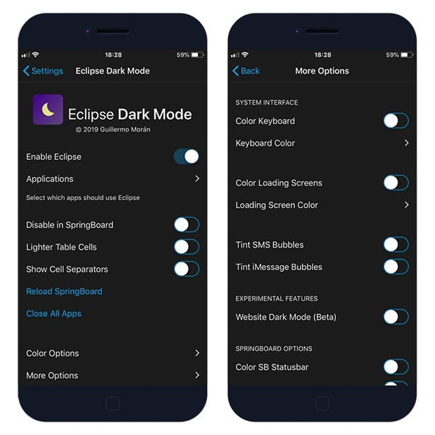 Eclipse 12 Dark Mode