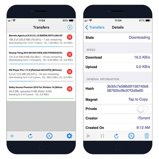 Secure VPN Torrent on iOS