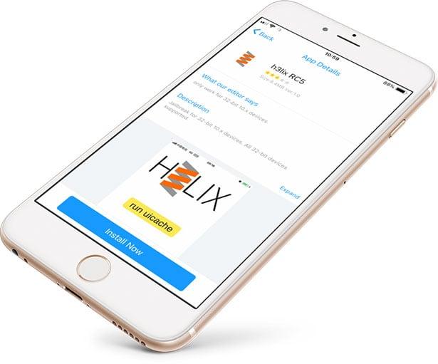 H3lix Jailbreak Download for iOS 10 / no computer