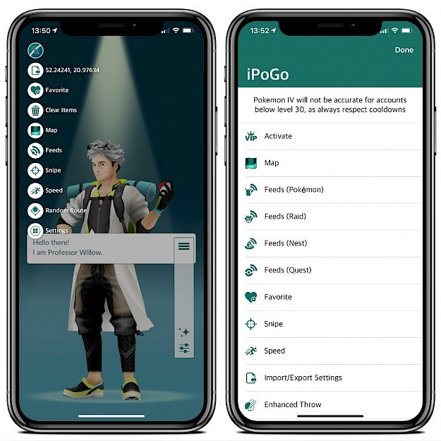 Install iPogo Pokemon GO app for iOS