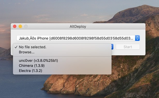 AltDeploy is a Cydia Impactor alternative for macOS