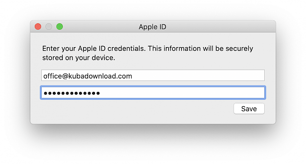 AltDeploy Apple ID