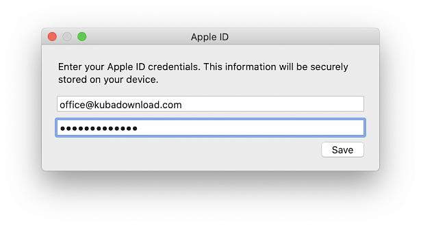 AltDeploy Apple ID