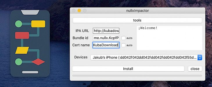 nullxImpactor - the Cydia Impactor alternative for Mac