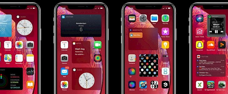 Velox Reloaded adds widgets to iOS home screen