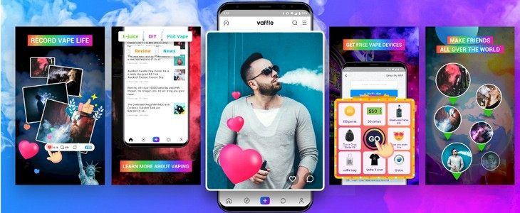 Vaffle app brings the vaping community together