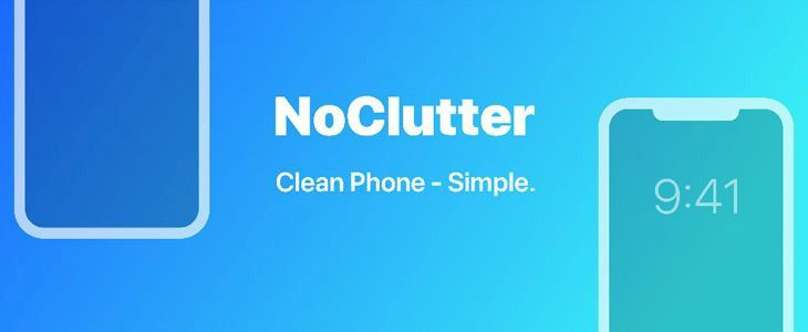 NoClutter tweak
