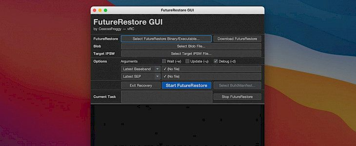 New FutureRestore GUI
