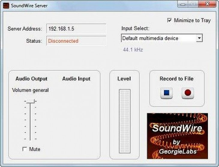 SoundWire Server