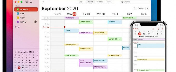 How to work with all-day and multi-day events in Calender