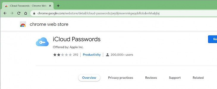 How to use iCloud Passwords on Chrome for Windows